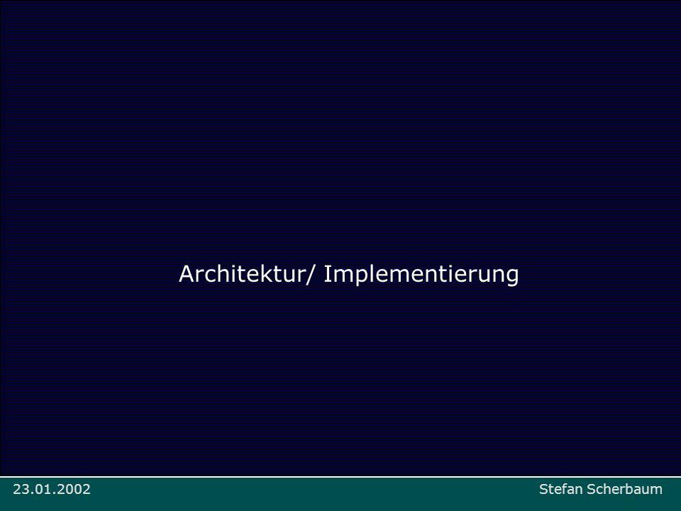 Architektur/ Implementierung