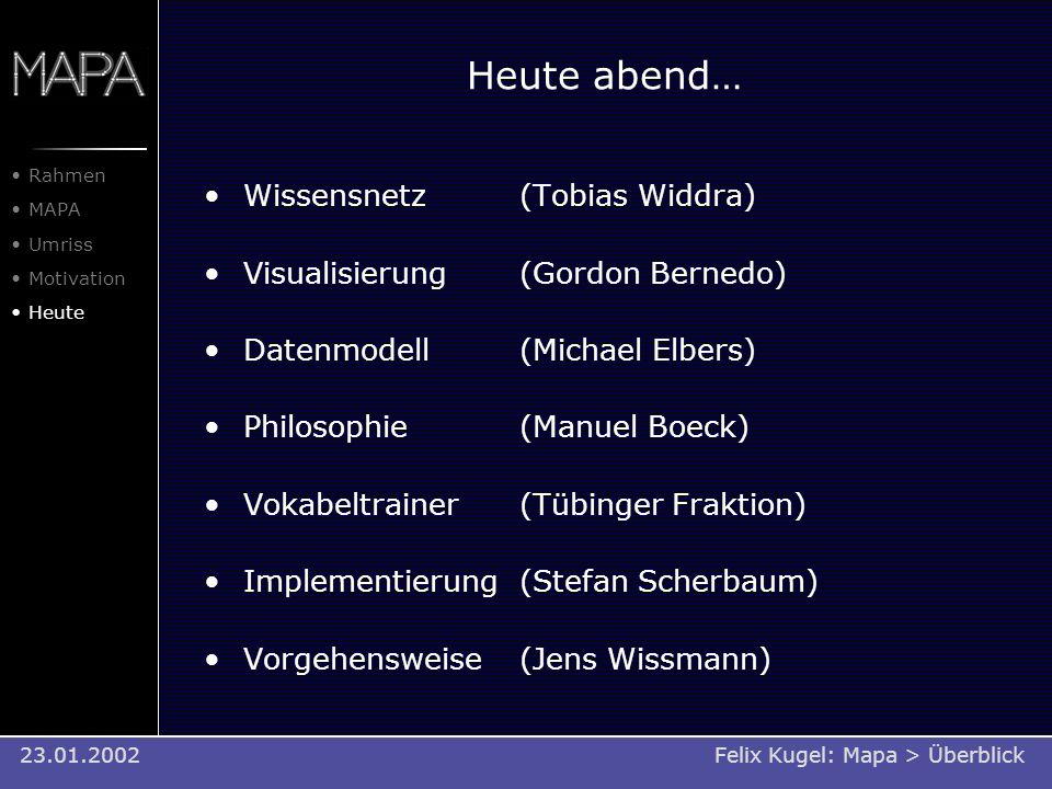 Heute abend… Wissensnetz (Tobias Widdra)