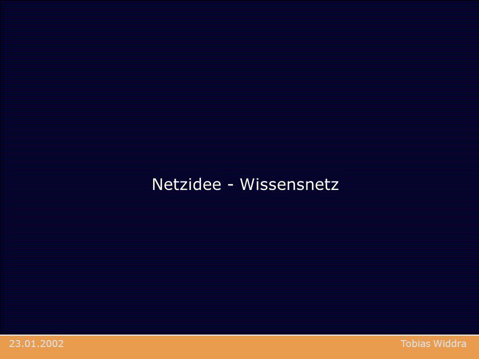 Netzidee - Wissensnetz