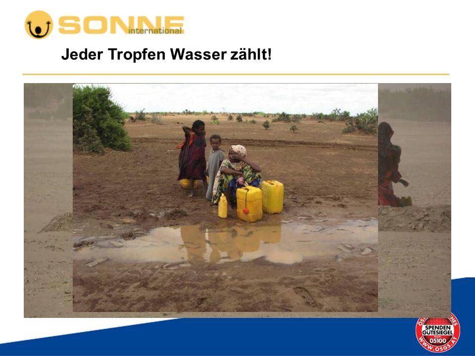 Jeder Tropfen Wasser zählt!