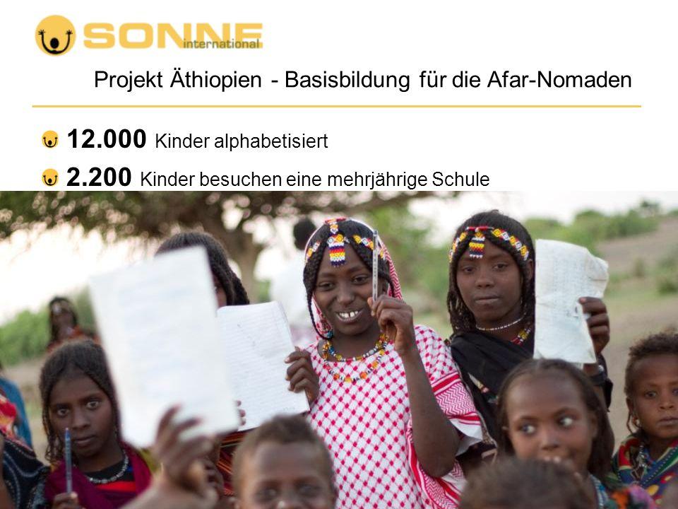 Projekt Äthiopien - Basisbildung für die Afar-Nomaden