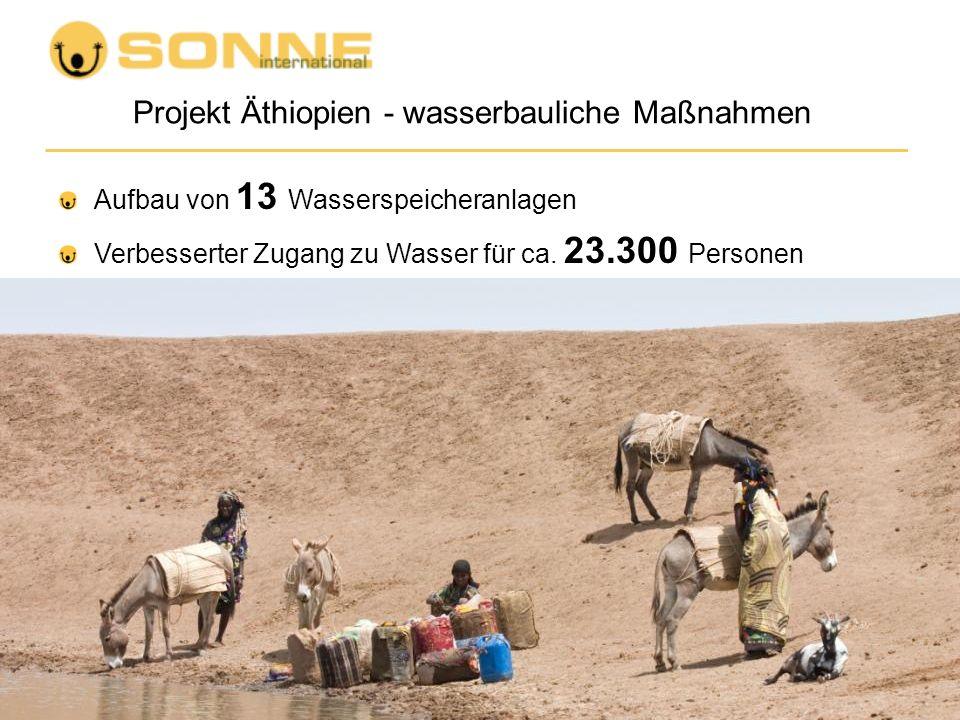 Projekt Äthiopien - wasserbauliche Maßnahmen