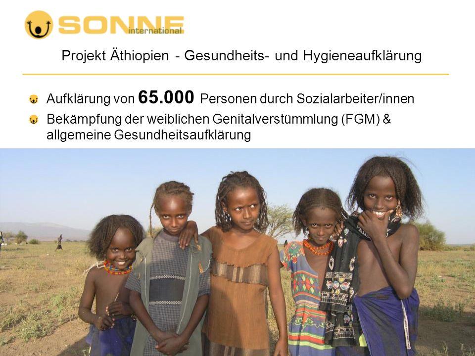 Projekt Äthiopien - Gesundheits- und Hygieneaufklärung