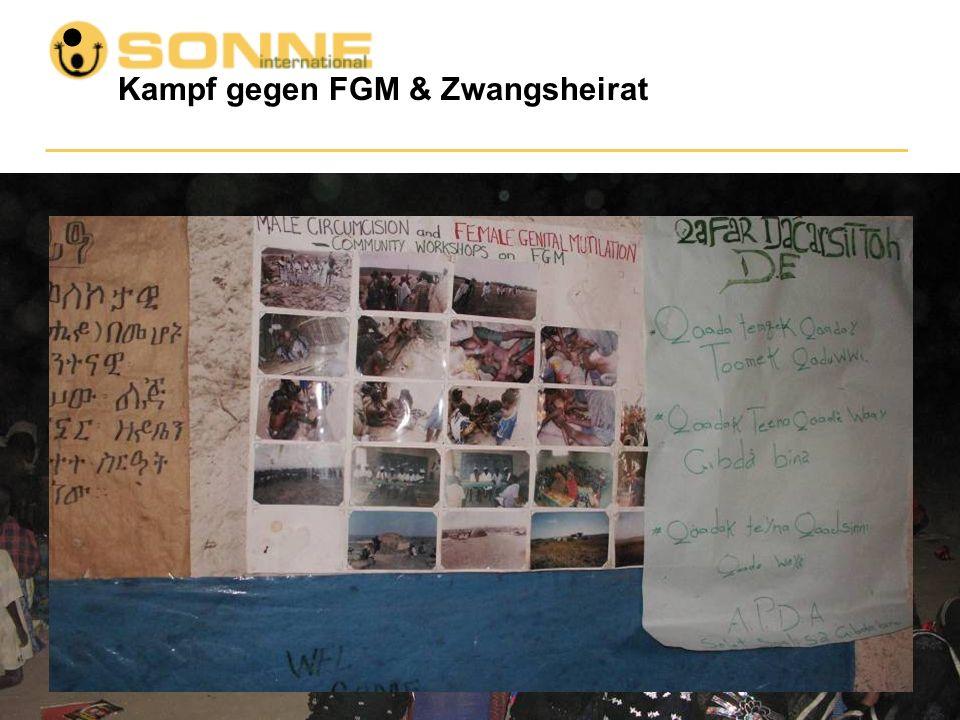 Kampf gegen FGM & Zwangsheirat