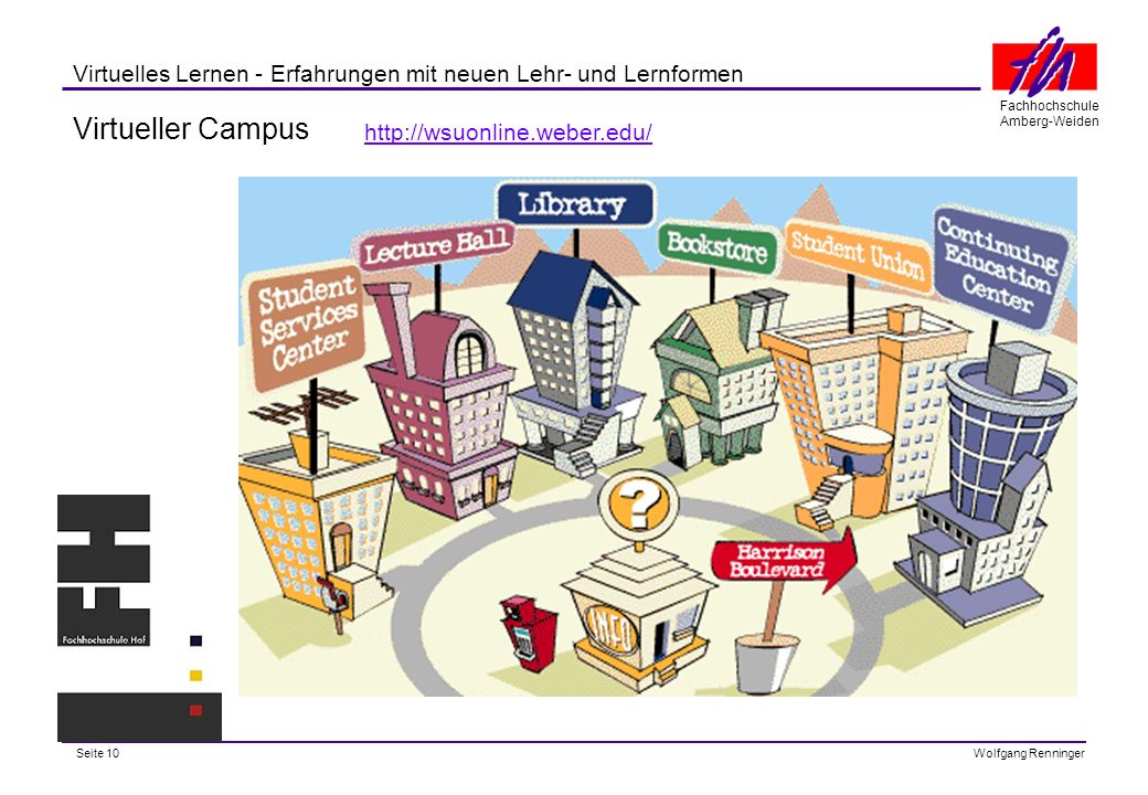 Virtueller Campus http://wsuonline.weber.edu/