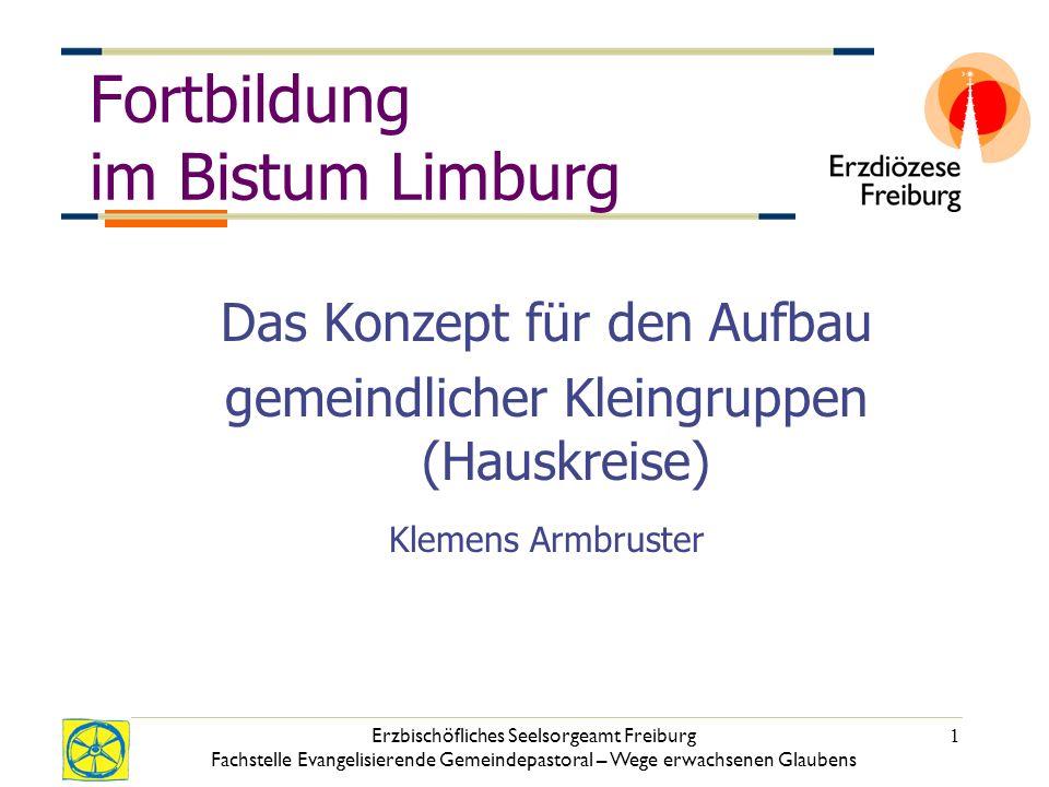 Fortbildung im Bistum Limburg