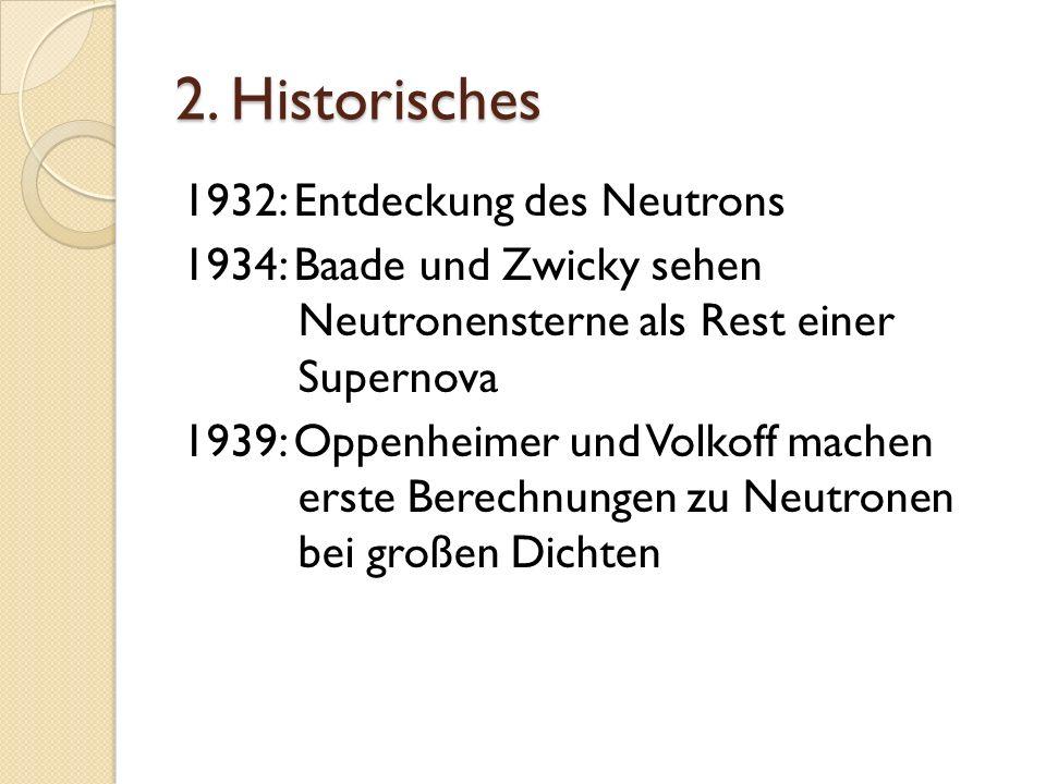 2. Historisches 1932: Entdeckung des Neutrons