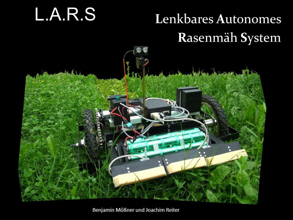 Lenkbares Autonomes Rasenmäh System