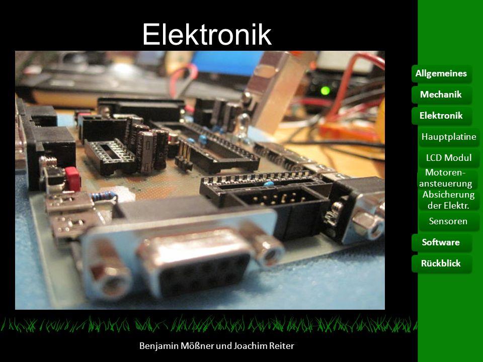 Elektronik Allgemeines Mechanik Elektronik Hauptplatine LCD Modul