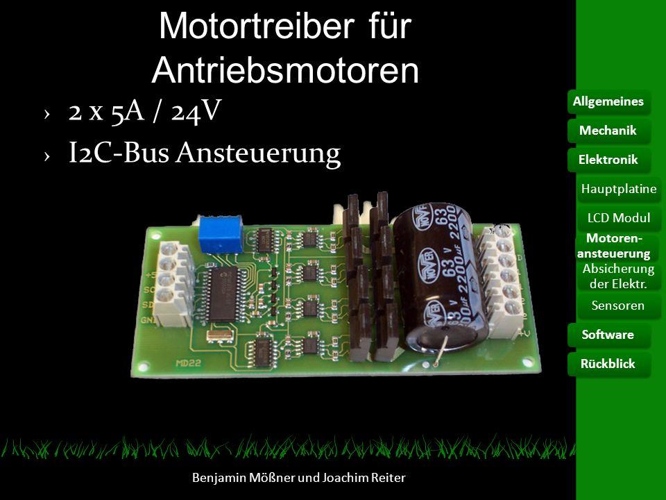 Motortreiber für Antriebsmotoren