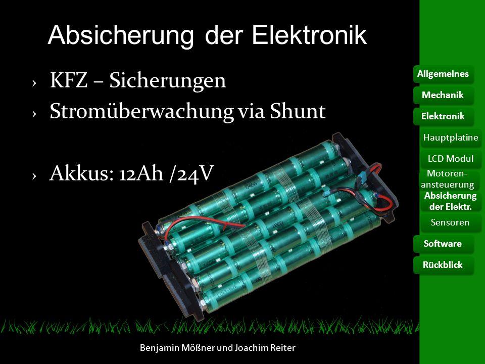 Absicherung der Elektronik
