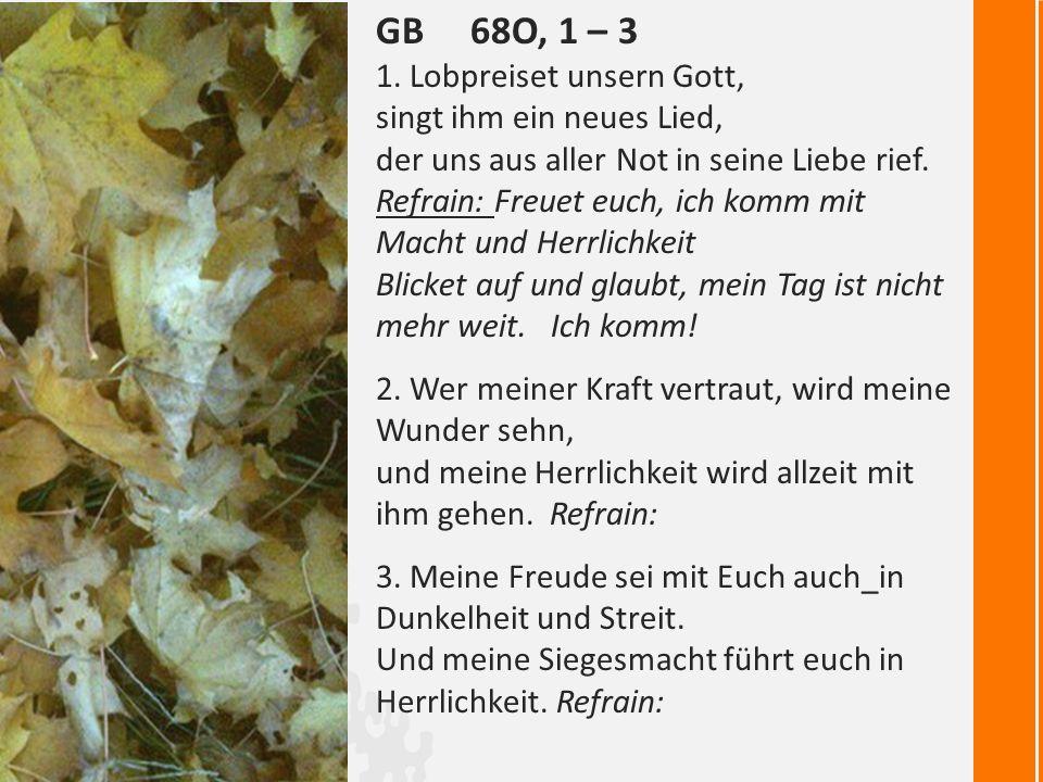 GB 68o, 1 – 3 1.