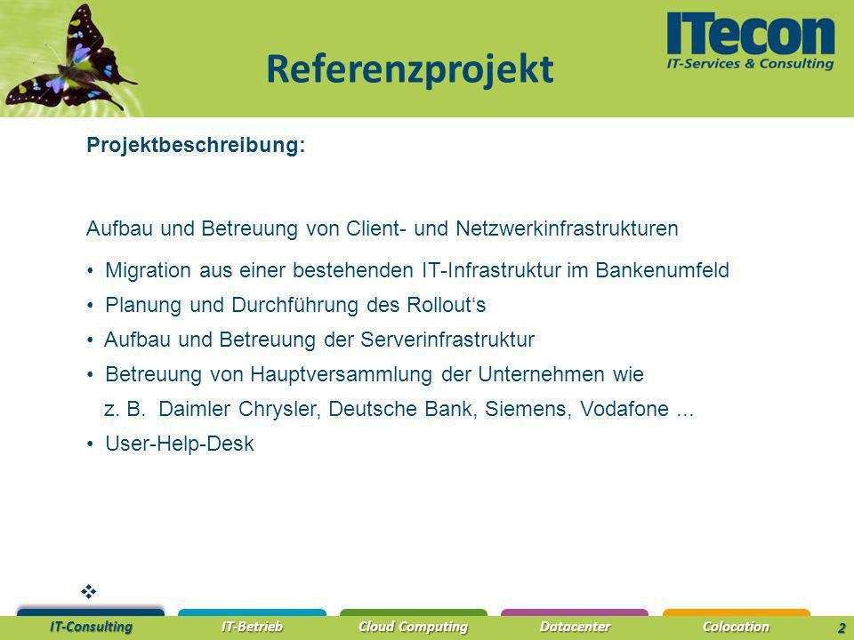 Referenzprojekt Projektbeschreibung: