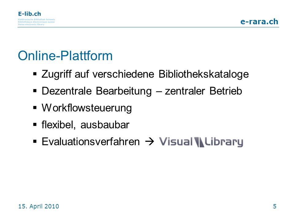 Online-Plattform Zugriff auf verschiedene Bibliothekskataloge
