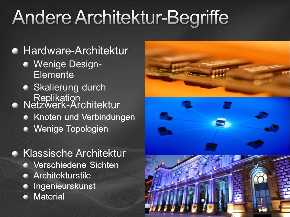 Andere Architektur-Begriffe