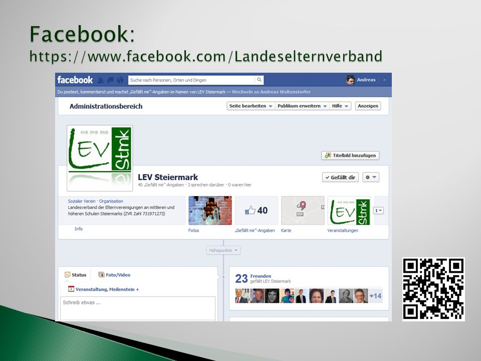 Facebook: https://www.facebook.com/Landeselternverband
