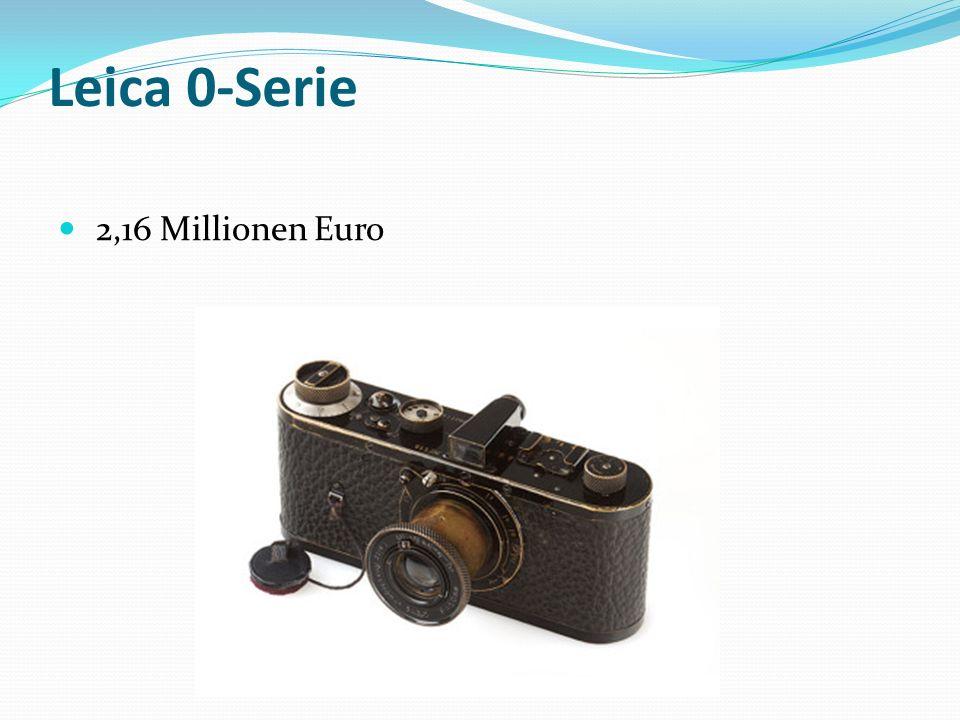 Leica 0-Serie 2,16 Millionen Euro