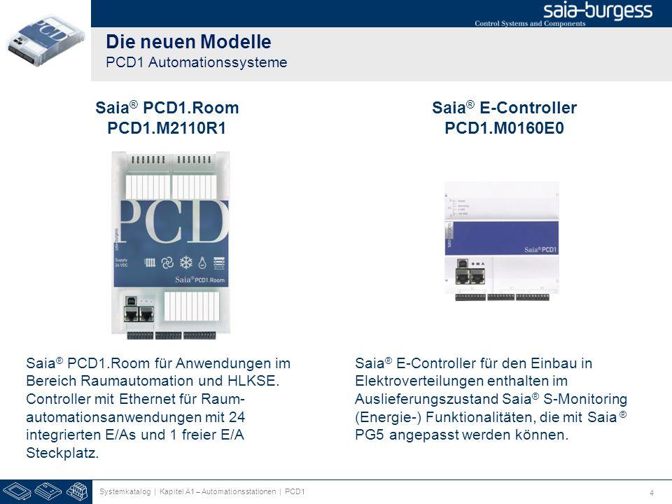 Die neuen Modelle PCD1 Automationssysteme