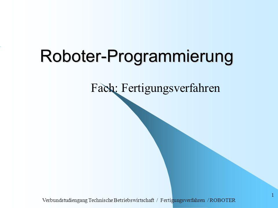 Roboter-Programmierung