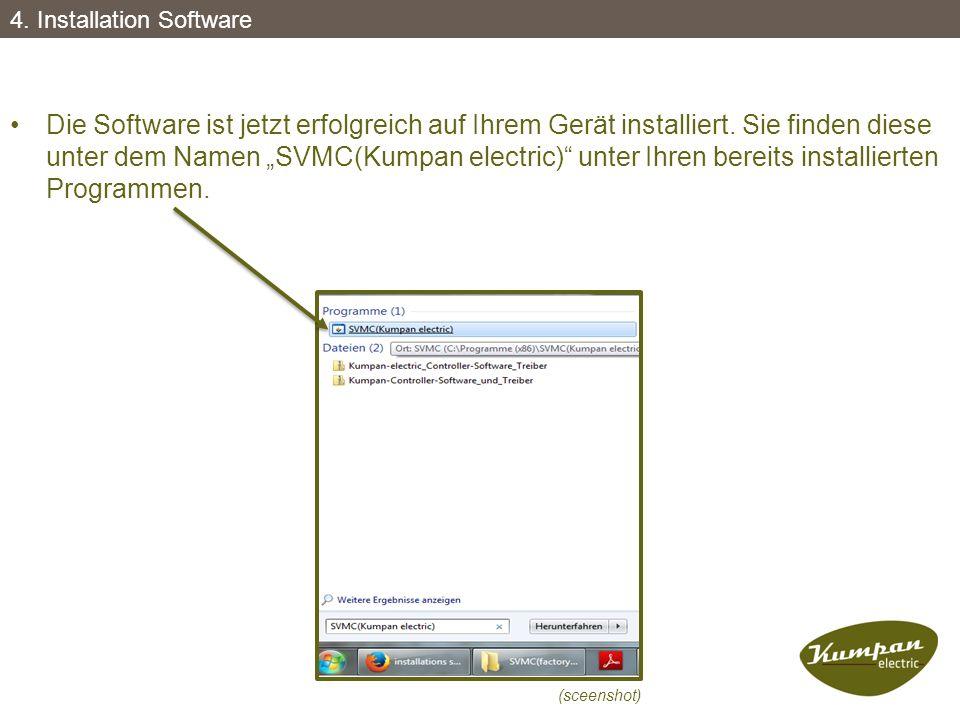 4. Installation Software
