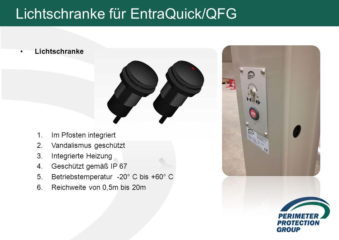 Lichtschranke für EntraQuick/QFG