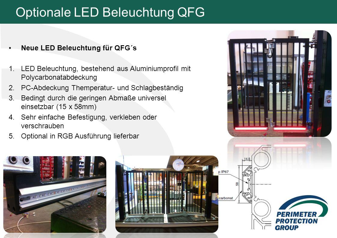 Optionale LED Beleuchtung QFG