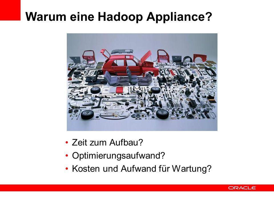Warum eine Hadoop Appliance