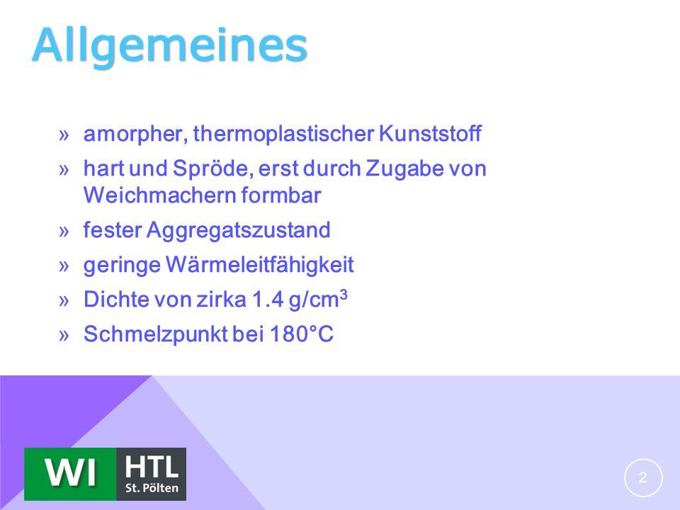 Allgemeines amorpher, thermoplastischer Kunststoff