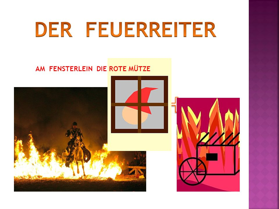 DER FEUERREITER Your Text Here