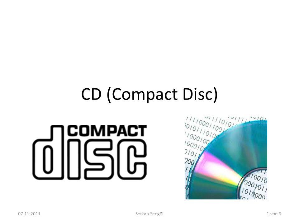 CD (Compact Disc) 07.11.2011 Sefkan Sengül