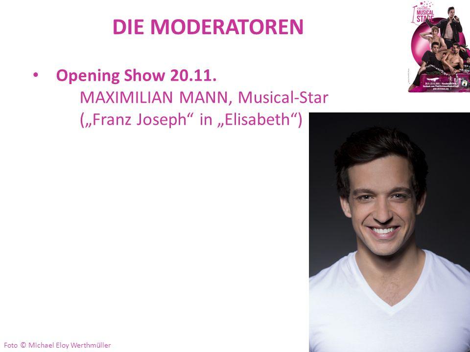 DIE MODERATOREN Opening Show 20.11.