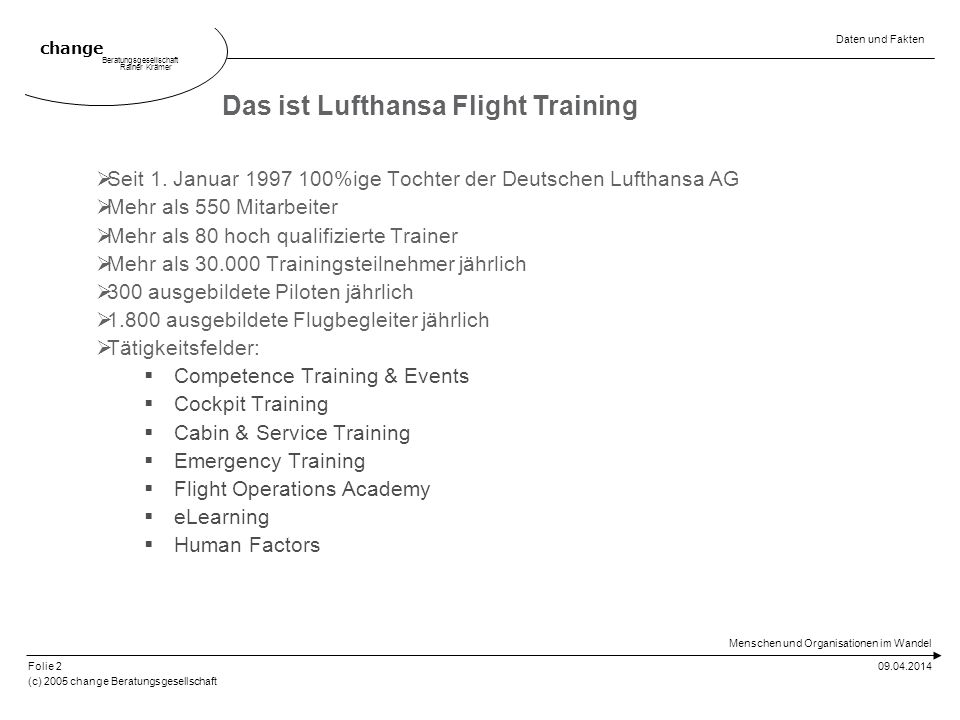 Das ist Lufthansa Flight Training