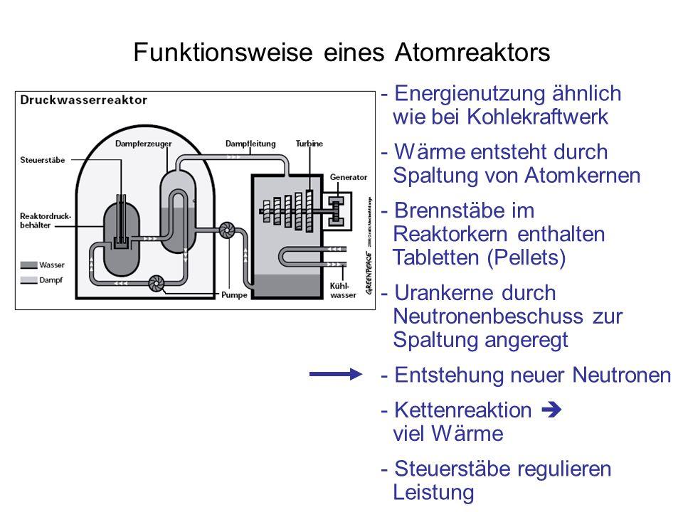 Funktionsweise eines Atomreaktors