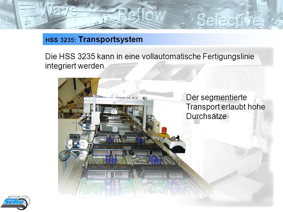 Der segmentierte Transport erlaubt hohe Durchsätze