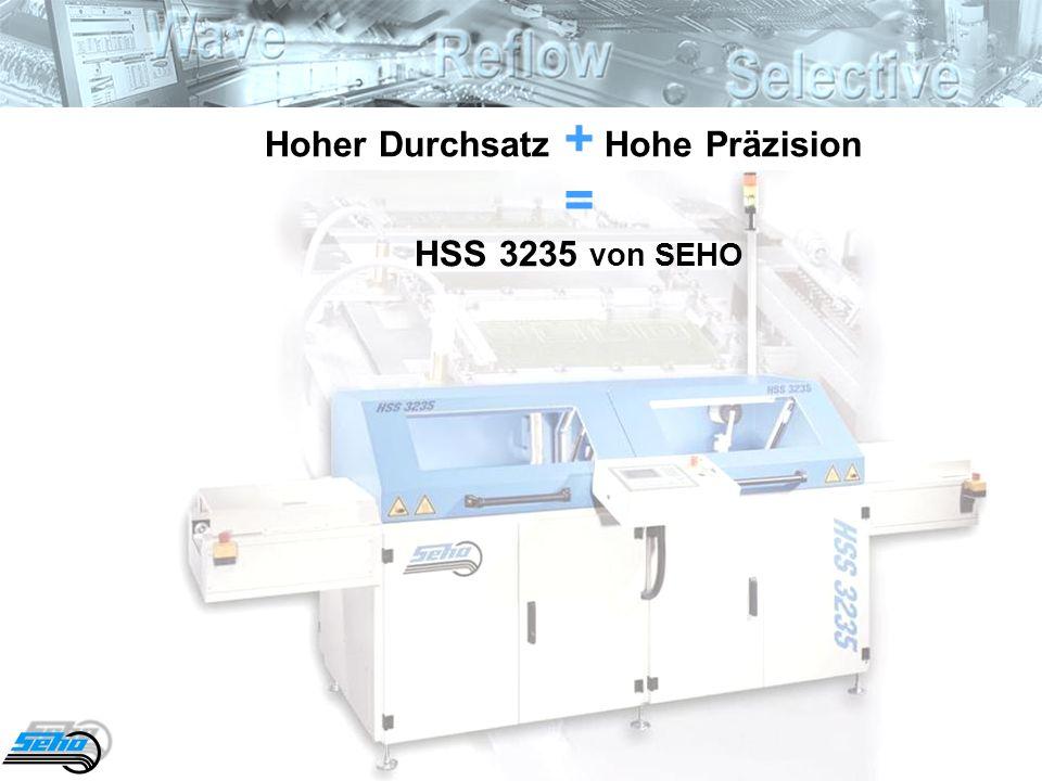 Hoher Durchsatz + Hohe Präzision = HSS 3235 von SEHO