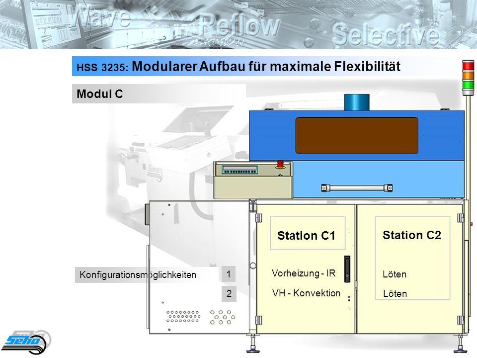 Modul C Station C1 Station C2
