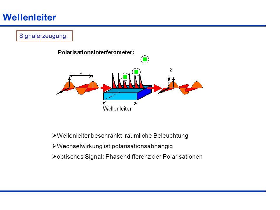 Wellenleiter Signalerzeugung: