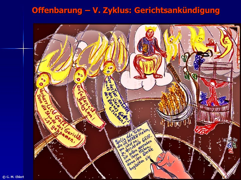 Offenbarung – V. Zyklus: Gerichtsankündigung
