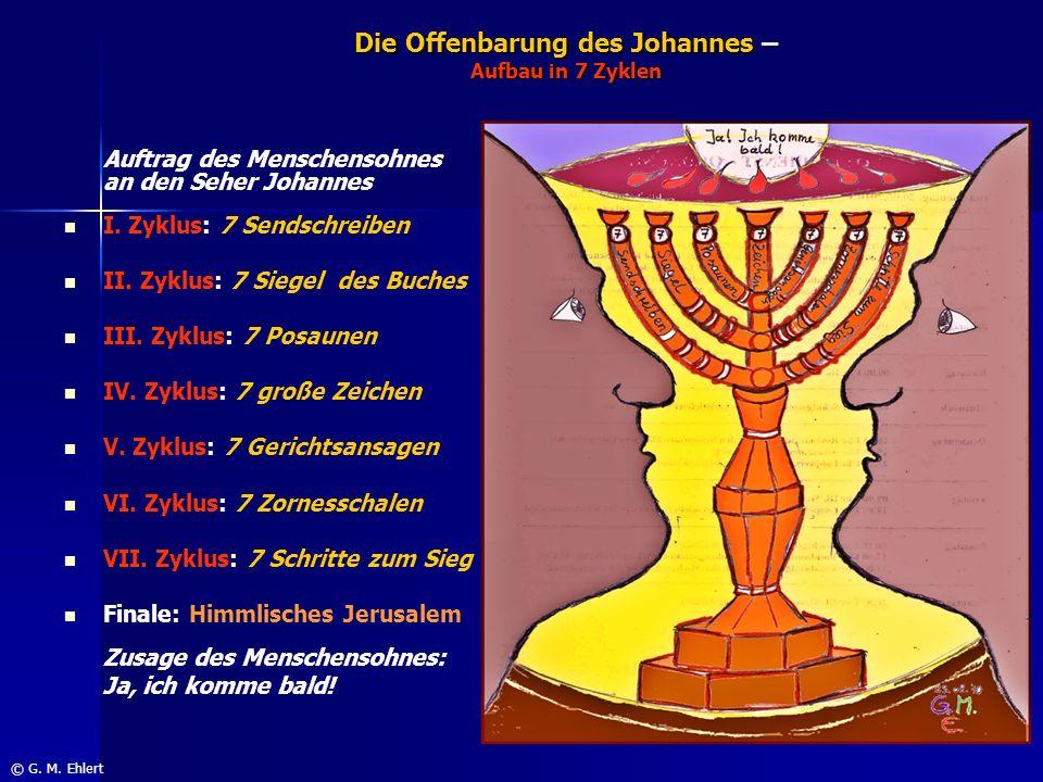 Die Offenbarung des Johannes – Aufbau in 7 Zyklen