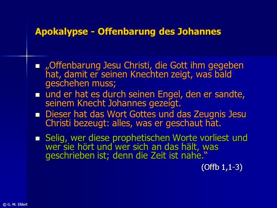 Apokalypse - Offenbarung des Johannes