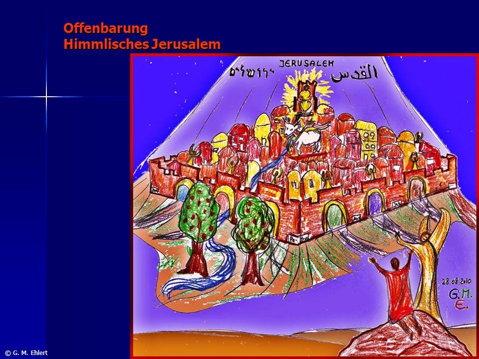 Offenbarung Himmlisches Jerusalem