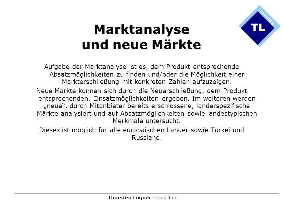 Marktanalyse und neue Märkte
