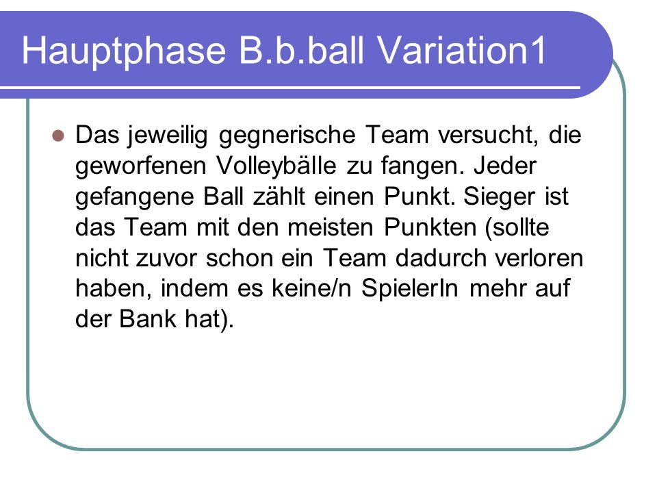 Hauptphase B.b.ball Variation1