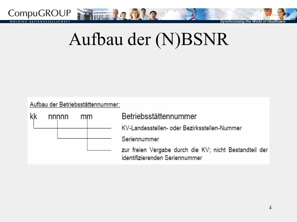 Aufbau der (N)BSNR