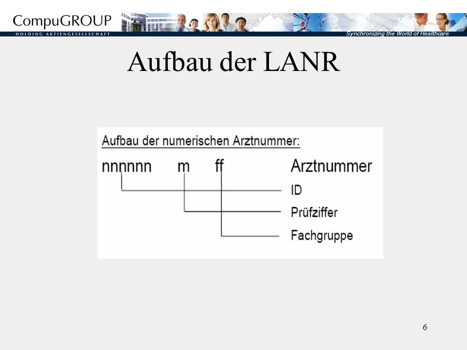 Aufbau der LANR