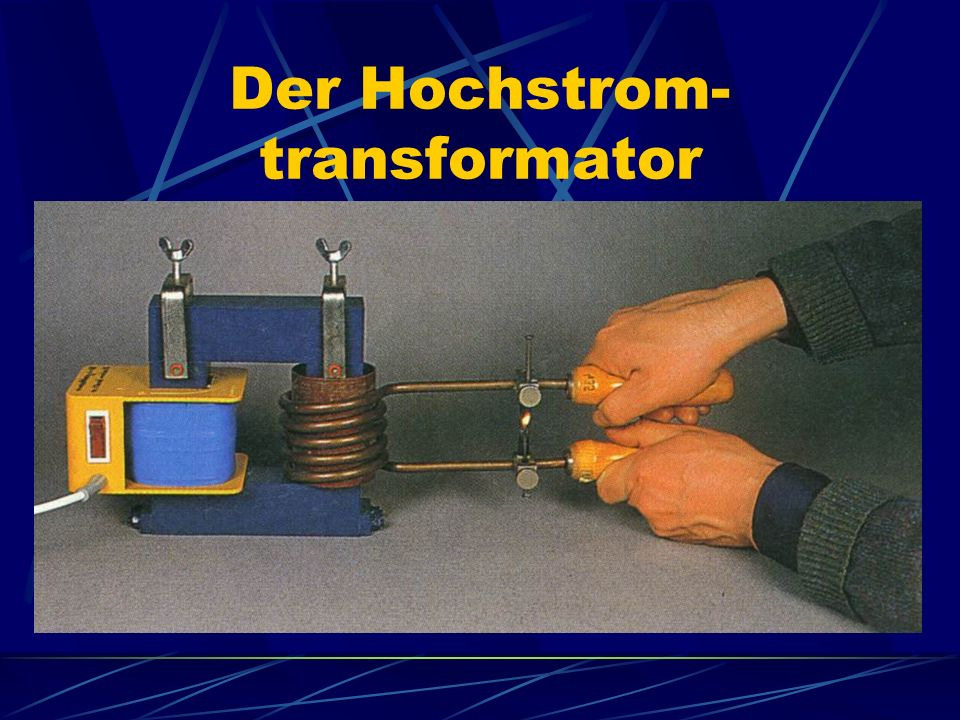 Der Hochstrom-transformator