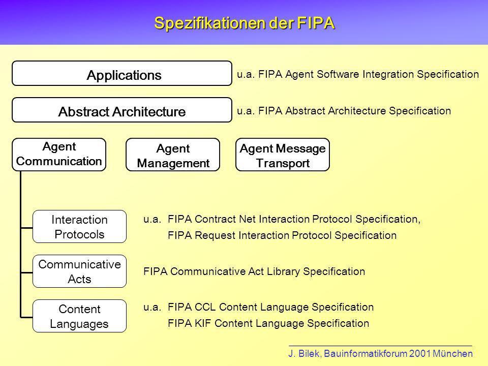 Spezifikationen der FIPA