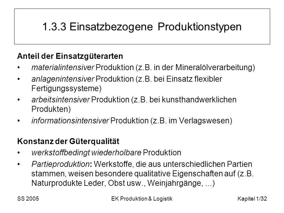 1.3.3 Einsatzbezogene Produktionstypen