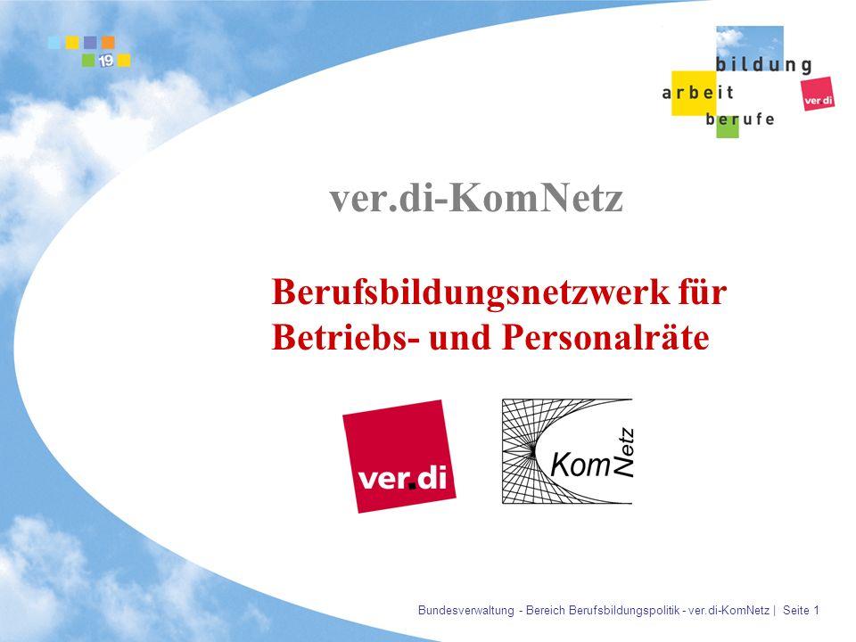 ver.di-KomNetz Berufsbildungsnetzwerk für Betriebs- und Personalräte