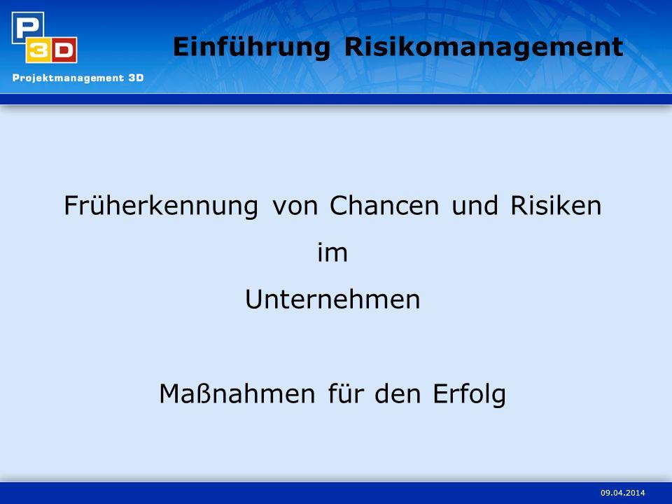 Einführung Risikomanagement